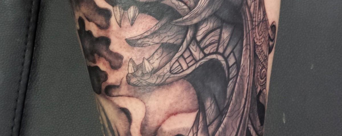 drakar-vikingo-Jorge García-Tatuajes L'Eliana