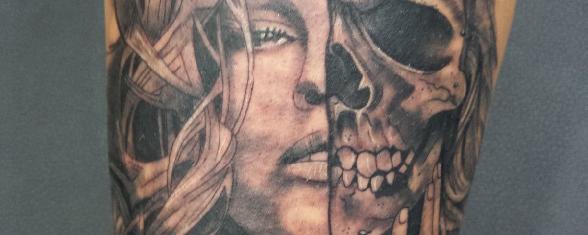 Calavera-skull-Jorge Garcìa-Tatuajes L'Eliana