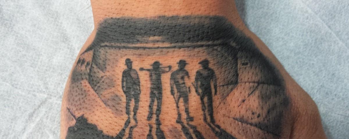 Mano tattoo-naranja mecánica-Jorge García-Tatuajes L'Eliana