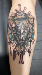 Tattoo Warhammer-Tatuajes L'Eliana-Jorge García