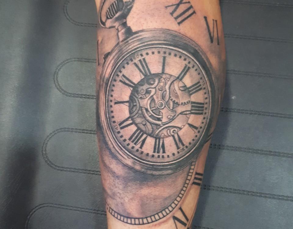 Tatuaje Reloj Arena. Foto De Tatuaje Relojes Relojes De