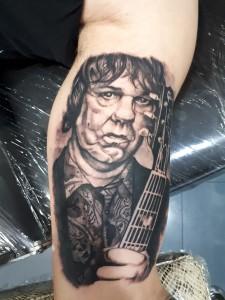 Tatuaje Gary Moore-Tatuajes L'Eliana_Jorge Terrorize