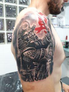 Tatuajes L'Eliana-Samurai